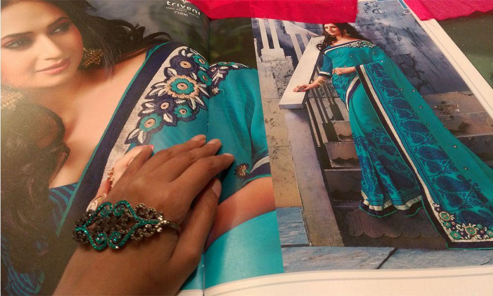ethnic wear sari