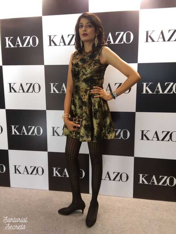 At the Kazo Autumn Winter Collection Preview