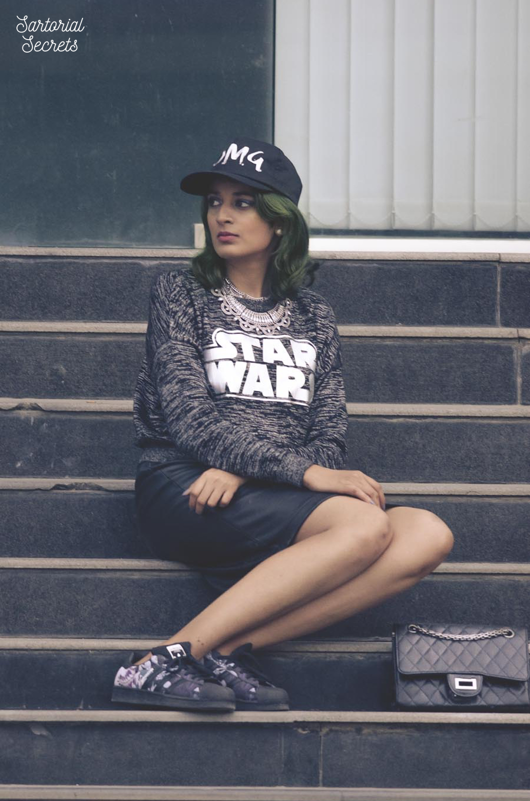 Star Wars-inspired outfit of the day