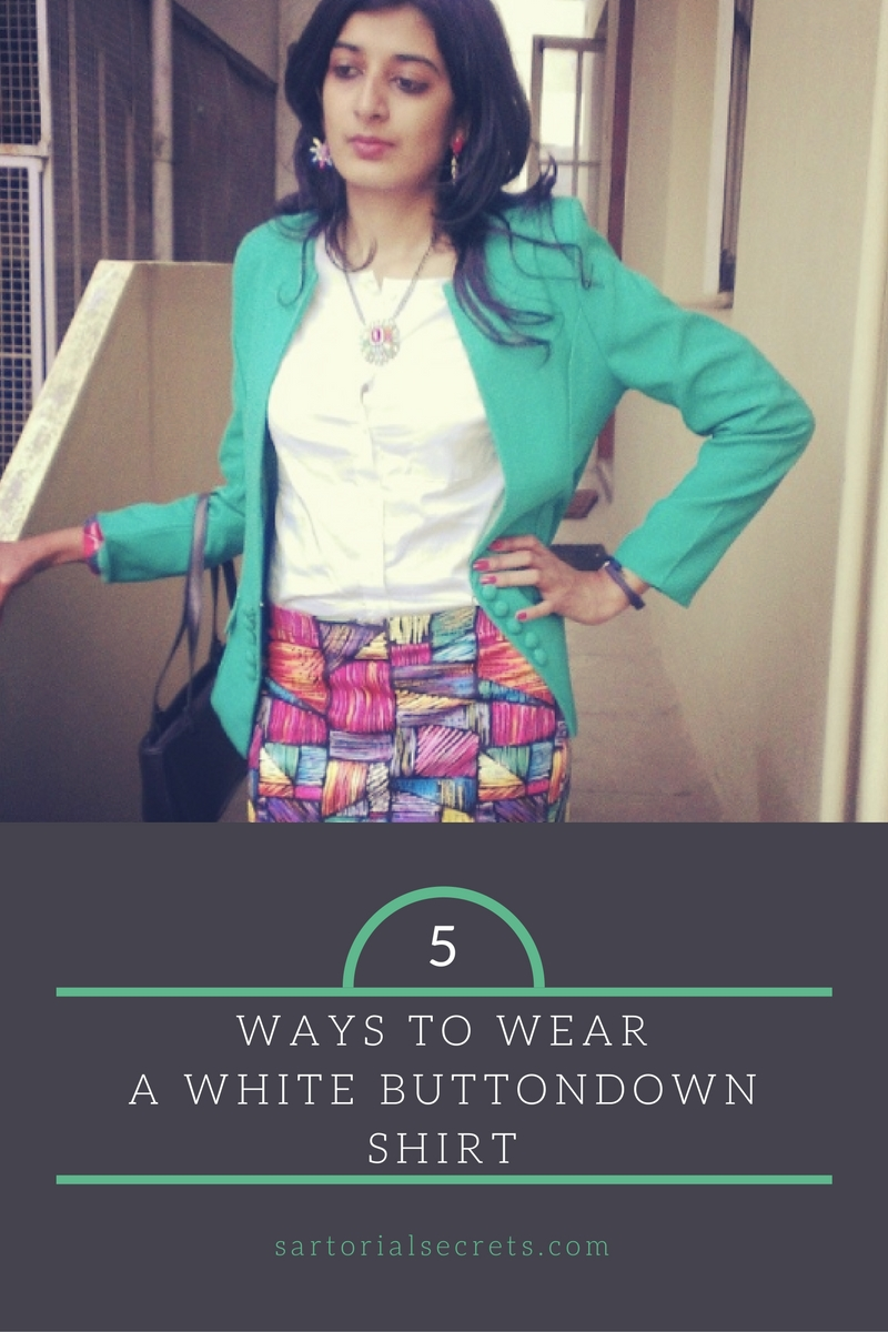 Sartorial Secrets: How to Style A White Buttondown Shirt