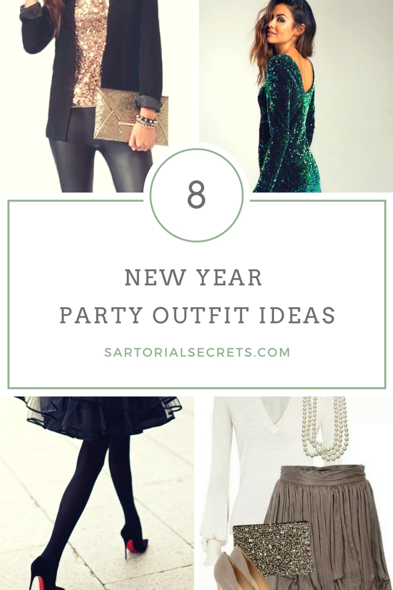 8 New Year Party Outfit Ideas You Can Try!