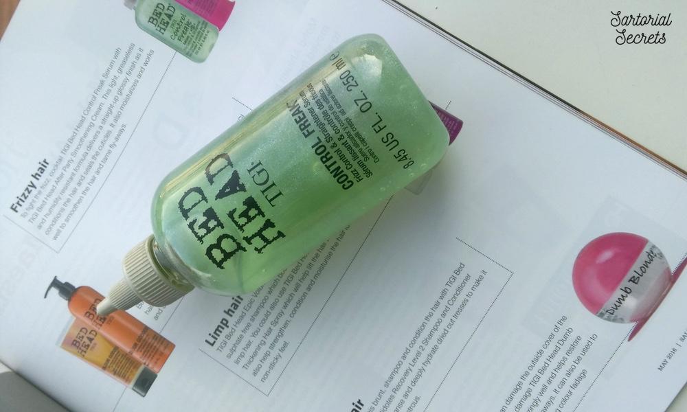 TIGI Bed Head Control Freak Anti-Frizz Hair Serum Review
