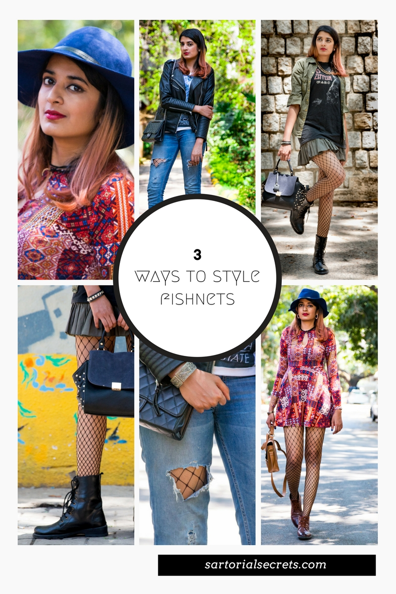 Sartorial Secrets: 3 Ways To Style Fishnets Like A Fashion It Girl