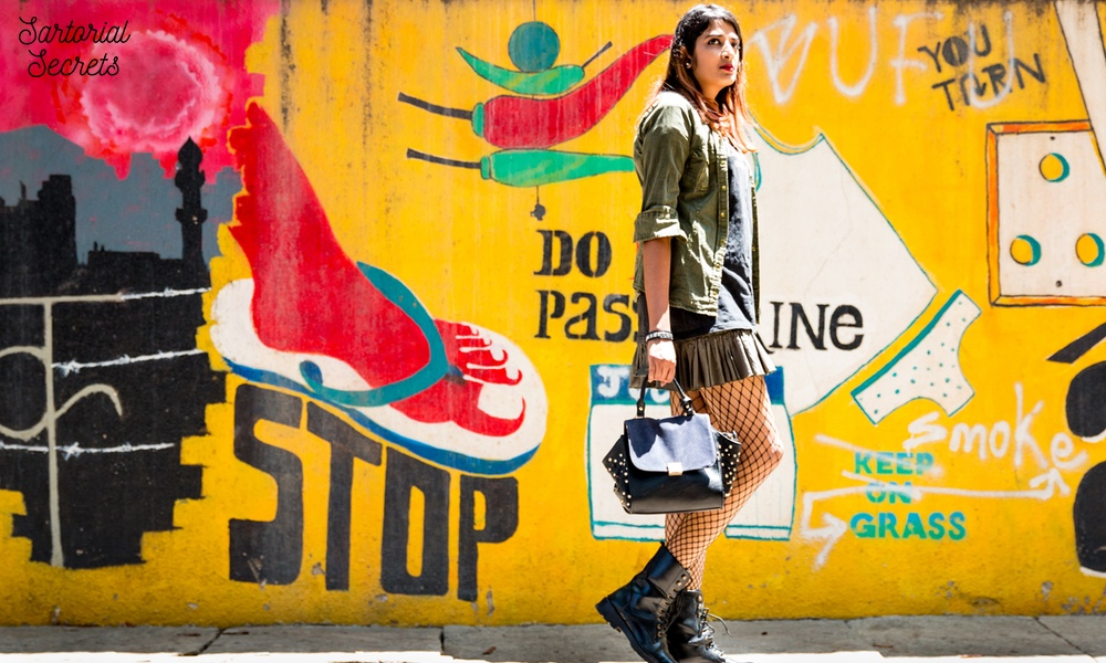 Sartorial Secrets: 3 Ways To Style Fishnets Like A Fashion It Girl