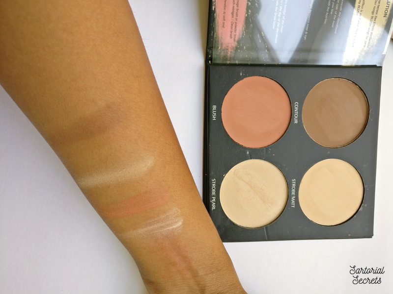 BeYu Cosmetics Strobe & Define Palette Review, Swatches, Availability In India